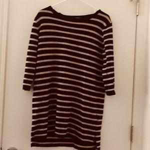 Long sleeve T-shirt dress